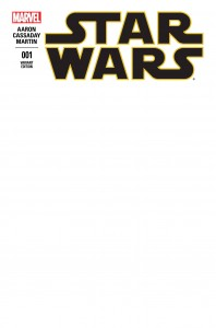 Star Wars #1 (Blank Variant Cover) (14.01.2015)