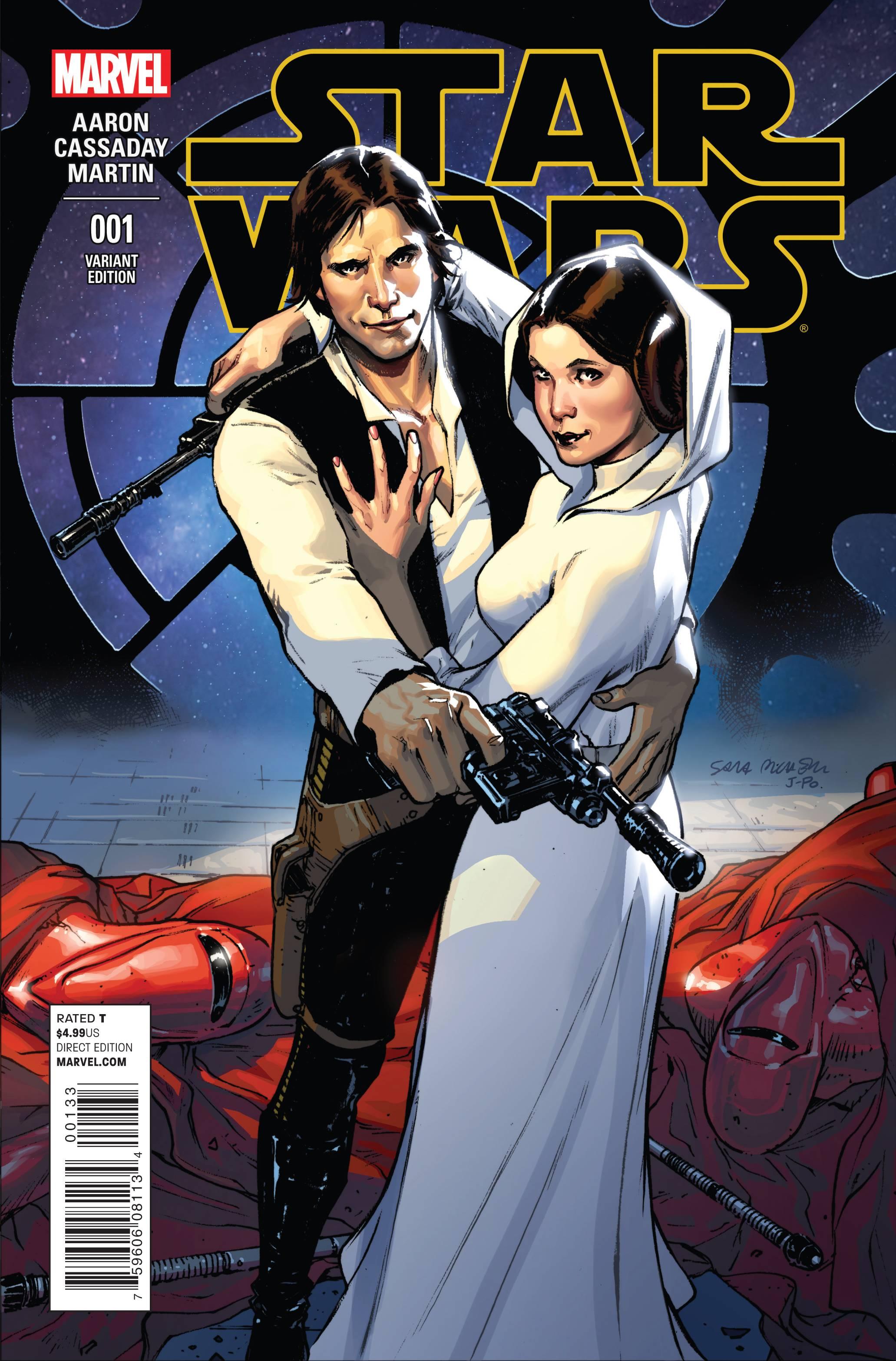 Star Wars #1 (Sara Pichelli Variant Cover) (14.01.2015)