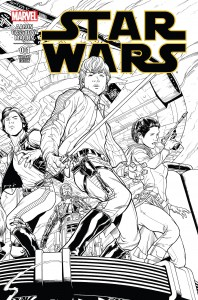Star Wars #1 (Joe Quesada Sketch Variant Cover) (14.01.2015)