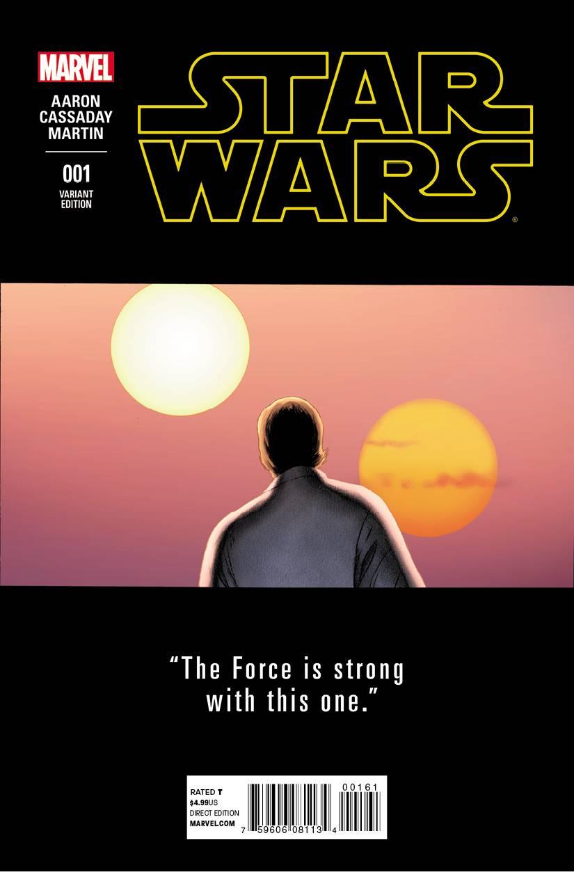 Star Wars #1 (John Cassaday Teaser Variant Cover) (14.01.2015)
