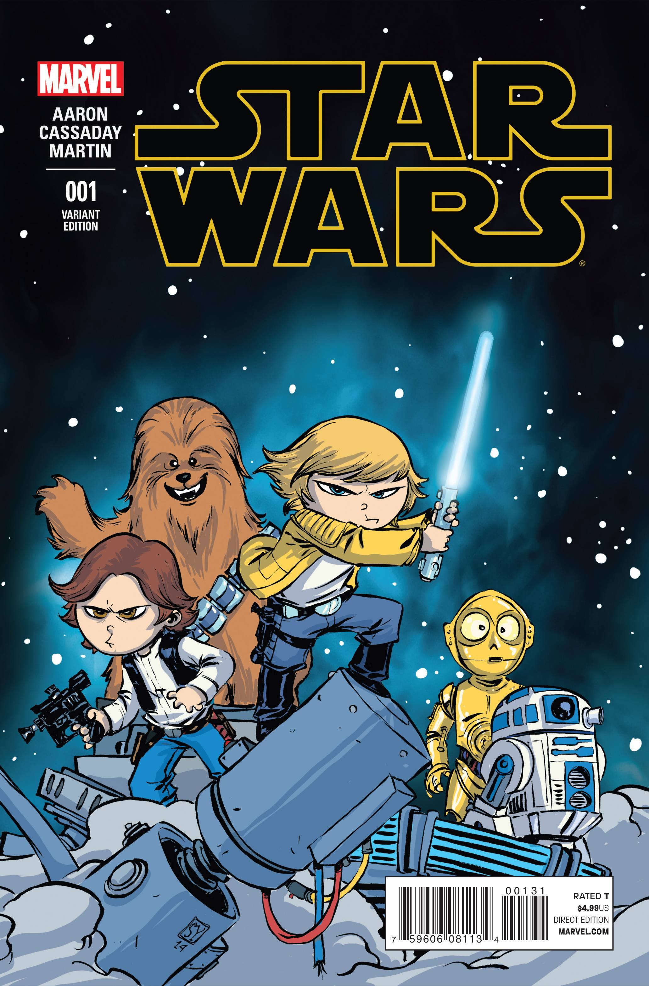 Star Wars #1 (Skottie Young Variant Cover) (14.01.2015)