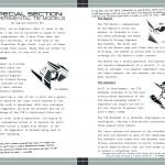 TIE-Jäger aus dem Imperial Handbook
