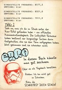 Ezras Tagebuch - Seite 2