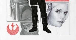 Star Wars #1 Frank Cho Variant Cover - Vorschau 2