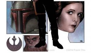 Star Wars #1 Frank Cho Variant Cover - Vorschau 4