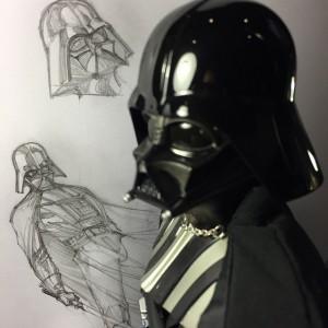 Vader-Skizzen von J. Scott Campbell