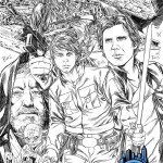 Star Wars #1 Mark Brooks Variantcover