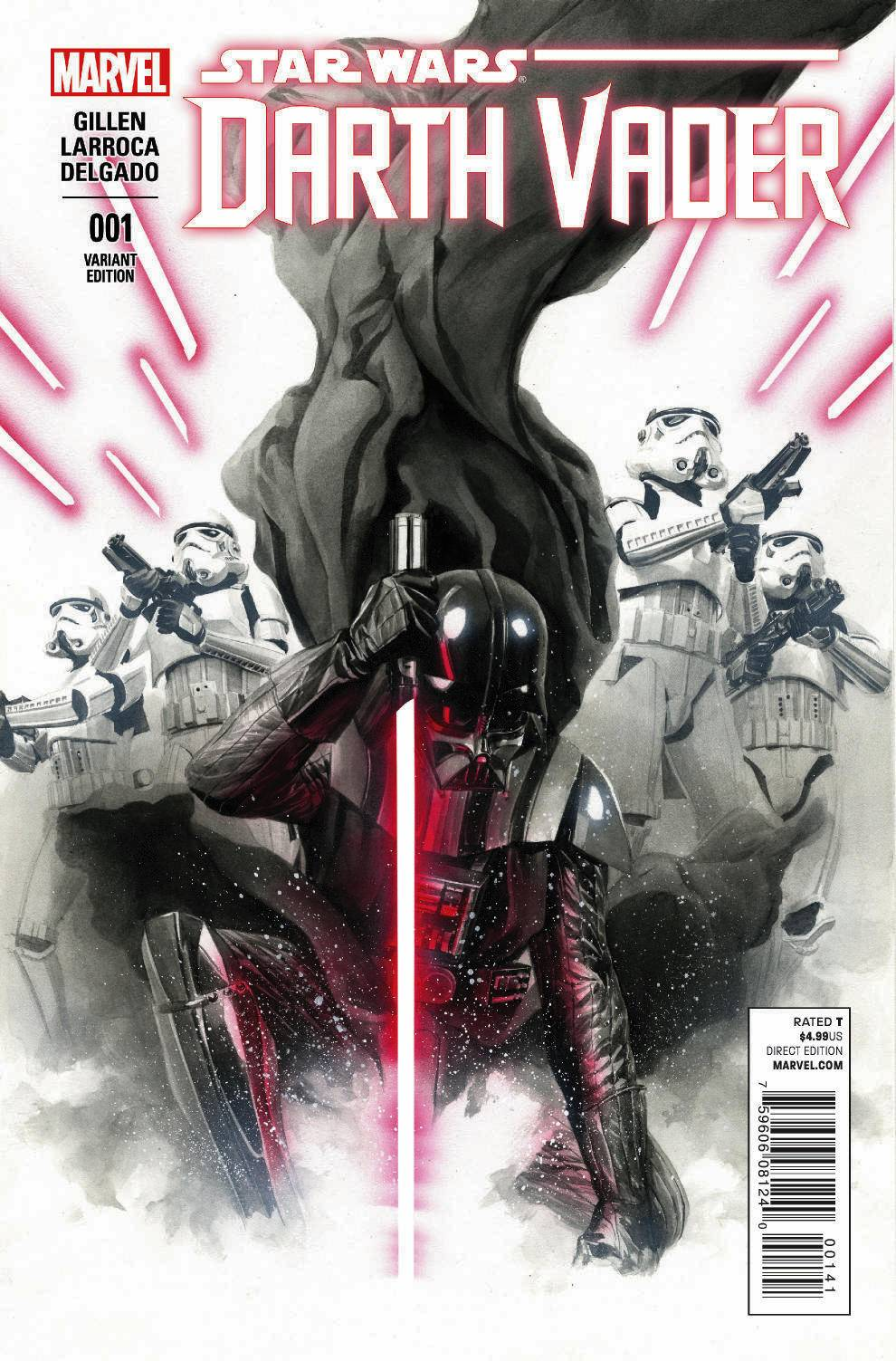 Darth Vader #1 (Alex Ross Variant Cover) (11.02.2015)