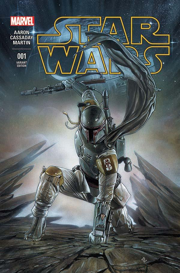 Star Wars #1 (Adi Granov Forbidden Planet Variant Cover) (14.01.2015)