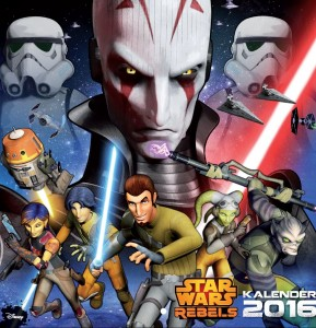 Star Wars Rebels Wandkalender 2016 (20.07.2015)