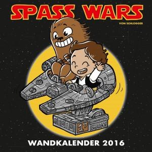 Spass Wars Wandkalender 2016 (20.07.2015)