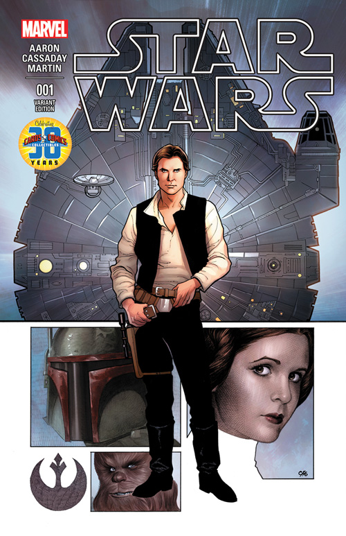 Star Wars #1 (Frank Cho Cards, Comics & Collectibles Variant Cover) (14.01.2015)