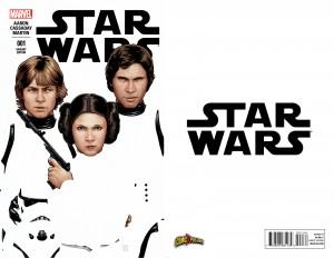 Star Wars #1 (John Tyler Christopher ComiXposure Variant Cover) (komplettes Cover)