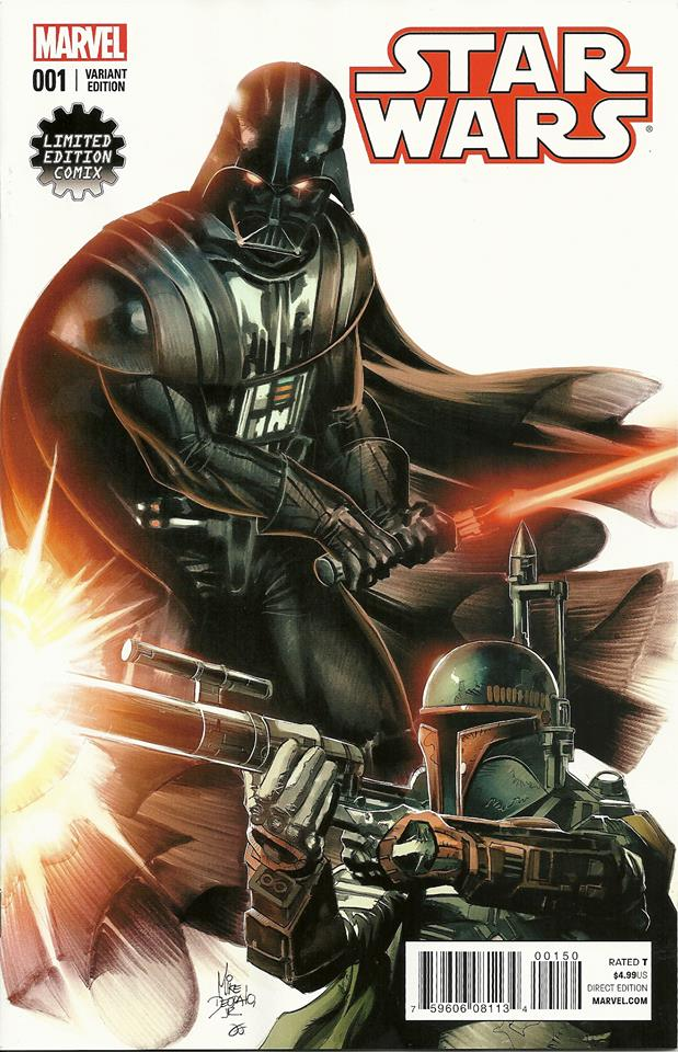Star Wars #1 (Mike Deodato Limited Edition Comix Variant Cover) (14.01.2015)