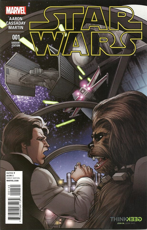 Star Wars #1 (Pasqual Ferry ThinkGeek Variant Cover) (14.01.2015)