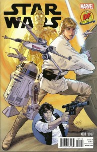 Star Wars #1 (Greg Land Dynamic Forces Variant Cover) (14.01.2015)