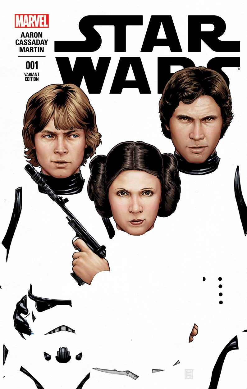 Star Wars #1 (John Tyler Christopher ComiXposure Variant Cover) (14.01.2015)