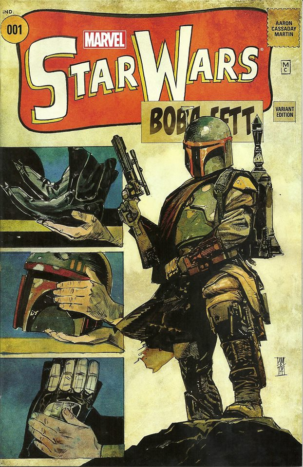 Star Wars #1 (Alex Maleev Comic Pop Collectibles/Warp 9 Comics Variant Cover) (14.01.2015)