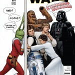 Star Wars #1 (John Tyler Christopher Humorous Party Variant Cover) (14.01.2015)