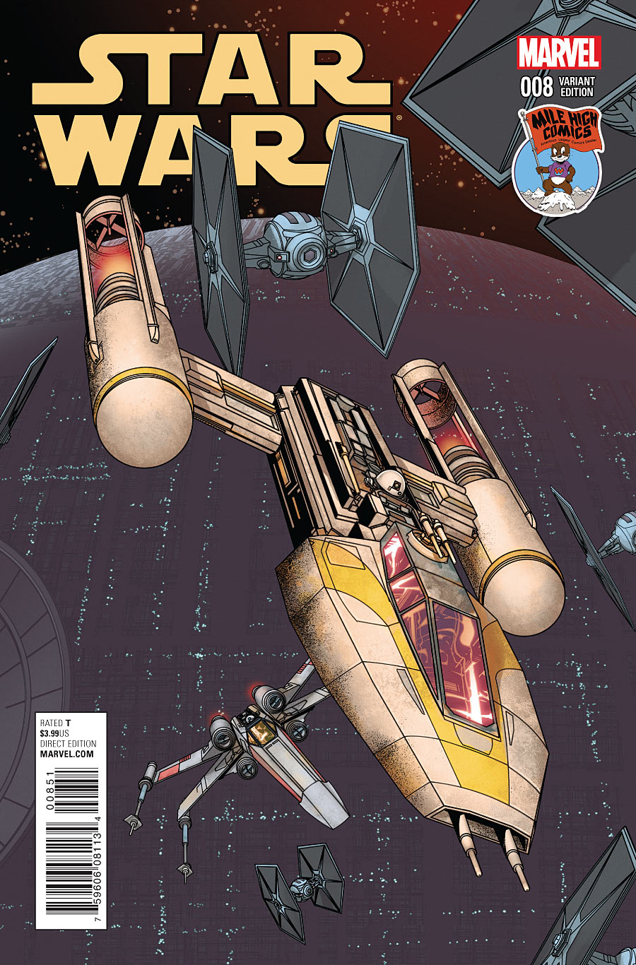 Star Wars #8 (Mike McKone Mile High Comics Connecting Variant Cover) (19.08.2015)