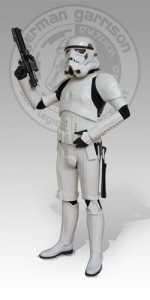 Mein <em>Eine neue Hoffunng</em>-Stormtrooper-Kostüm