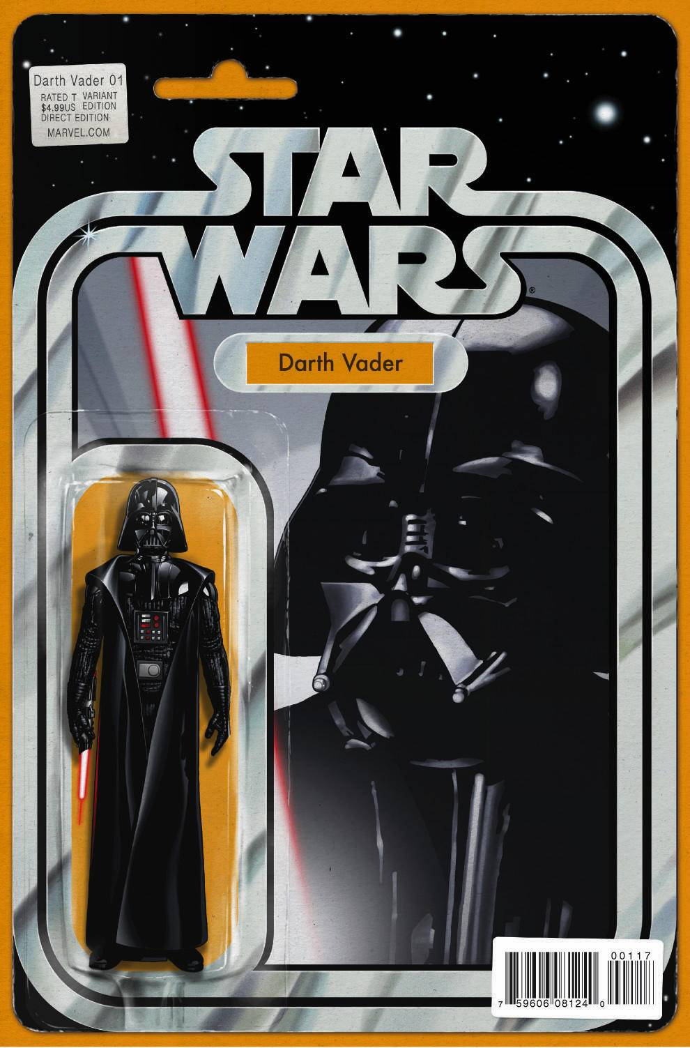 Darth Vader #1 (Action Figure Variant Cover) (11.02.2015)
