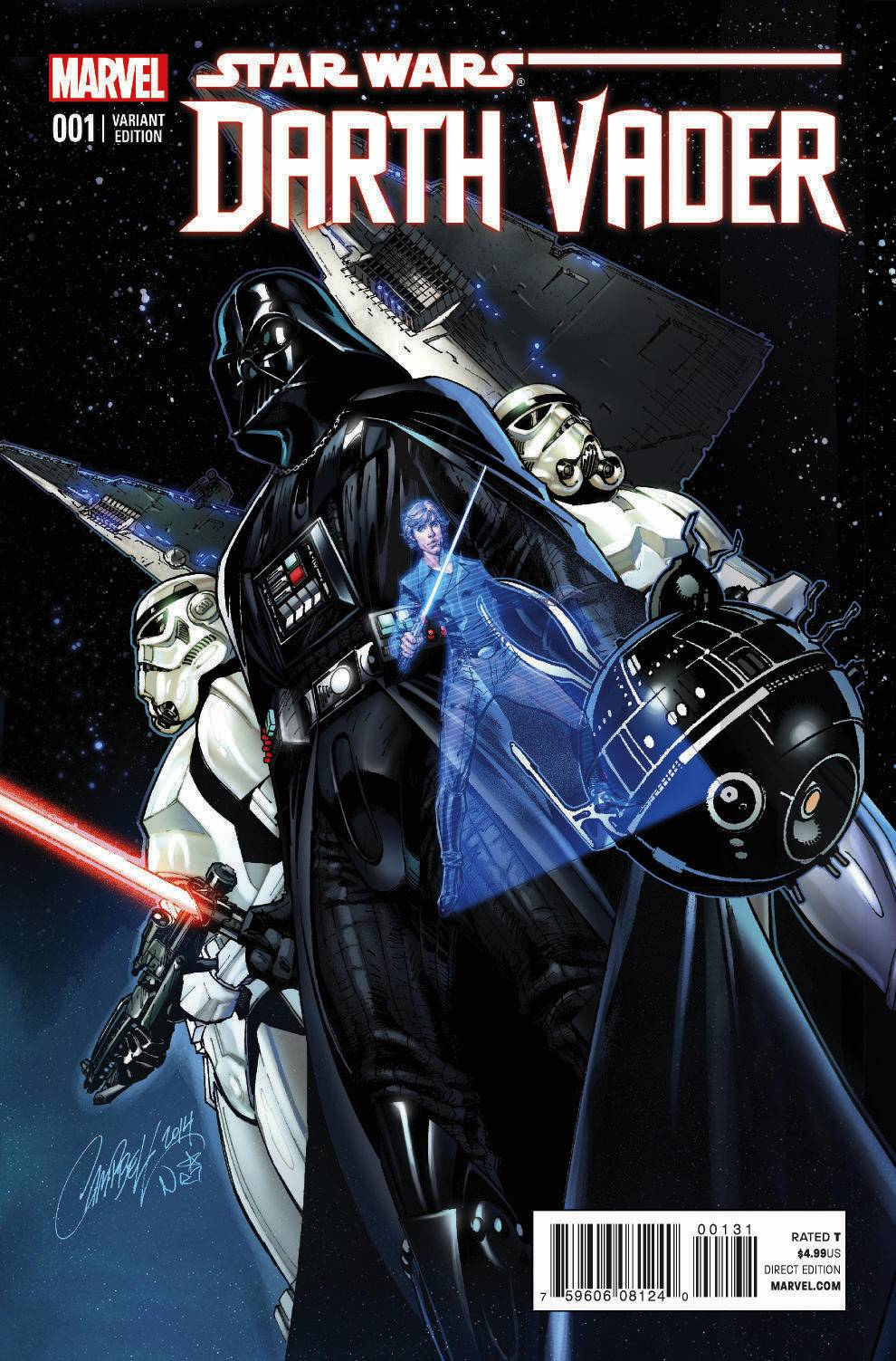 Darth Vader #1 (J. Scott Campbell Connecting Variant Cover B) (11.02.2015)