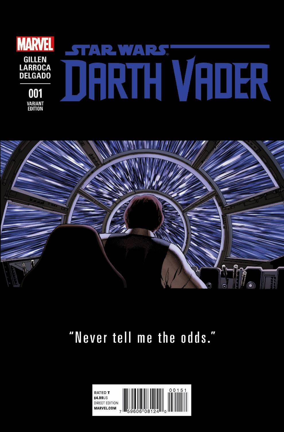 Darth Vader #1 (John Cassaday Teaser Variant Cover) (11.02.2015)