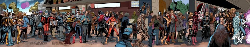 Marvels <em>Welcome Home</em> Variantcover