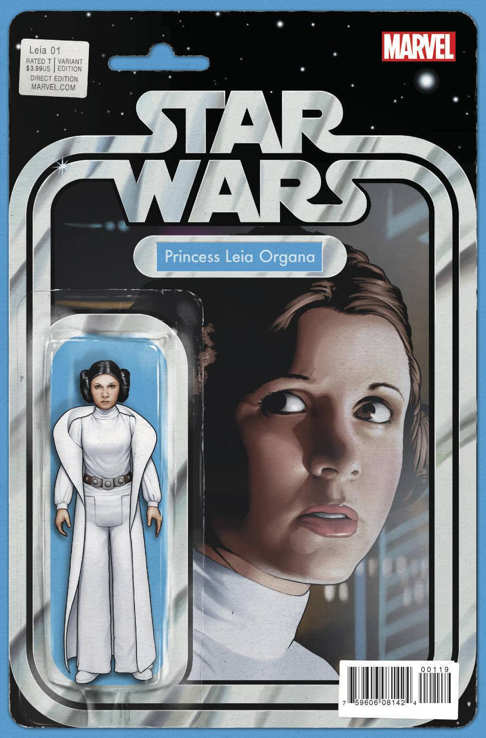 Princess Leia #1 (Action Figure Variant Cover) (04.03.2015)