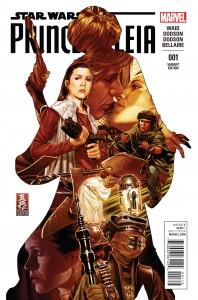 Princess Leia #1 (Mark Brooks Variant Cover) (04.03.2015)