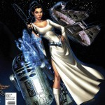 Princess Leia #1 (J. Scott Campbell Connecting Variant Cover C) (04.03.2015)