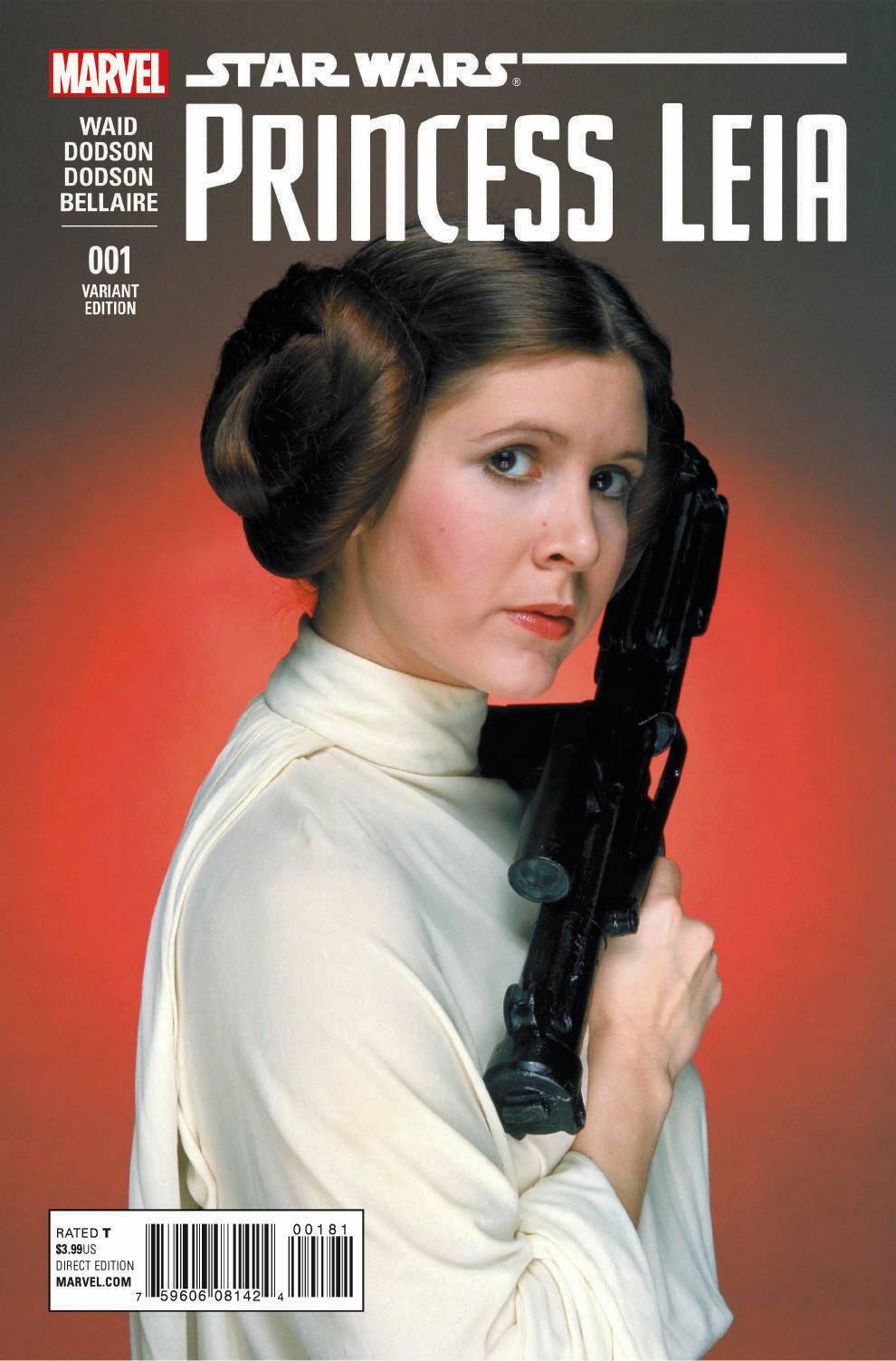 Princess Leia #1 (Movie Variant Cover) (04.03.2015)
