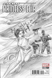 Princess Leia #1 (Alex Ross Sketch Variant Cover) (04.03.2015)