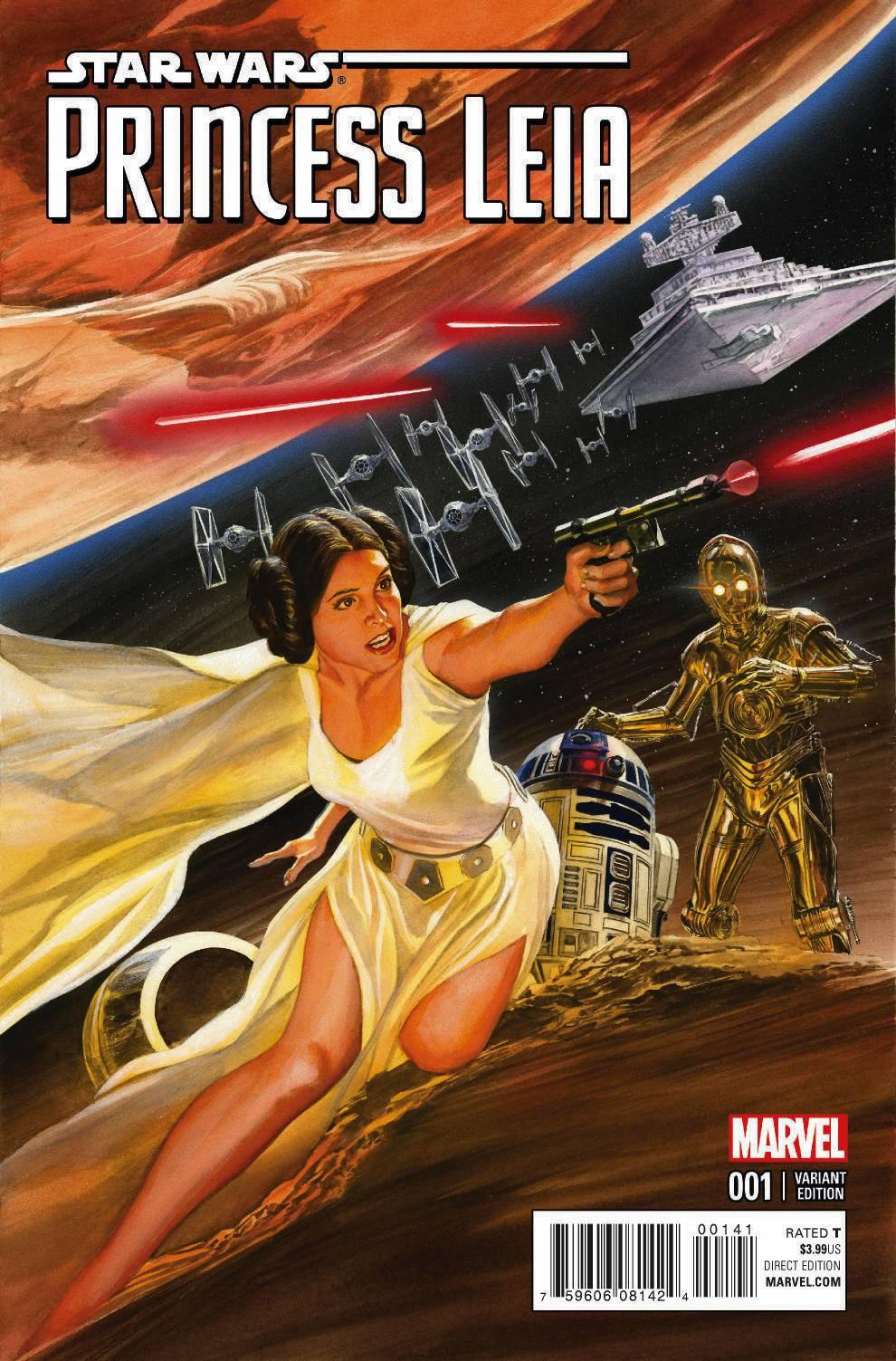 Princess Leia #1 (Alex Ross Variant Cover) (04.03.2015)