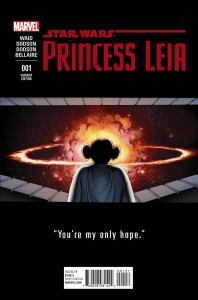 Princess Leia #1 (John Cassaday Teaser Variant Cover) (04.03.2015)