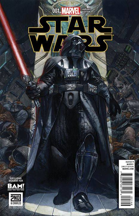 Star Wars #1 (Simone Bianchi 2nd & Charles/Books-A-Million Variant Cover) (14.01.2015)
