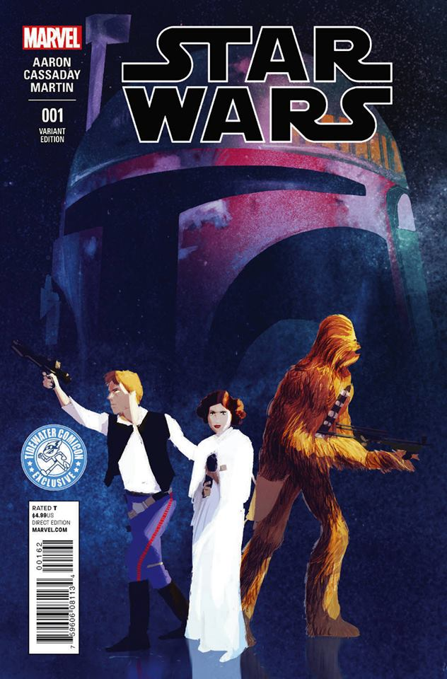 Star Wars #1 (Pascal Campion Tidewater Comicon Variant Cover) (14.01.2015)