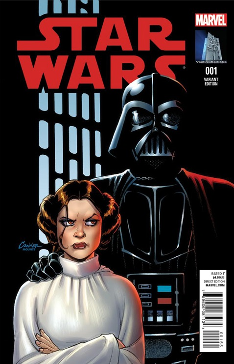 Star Wars #1 (Amanda Conner Vault Collectibles Variant Cover) (14.01.2015)