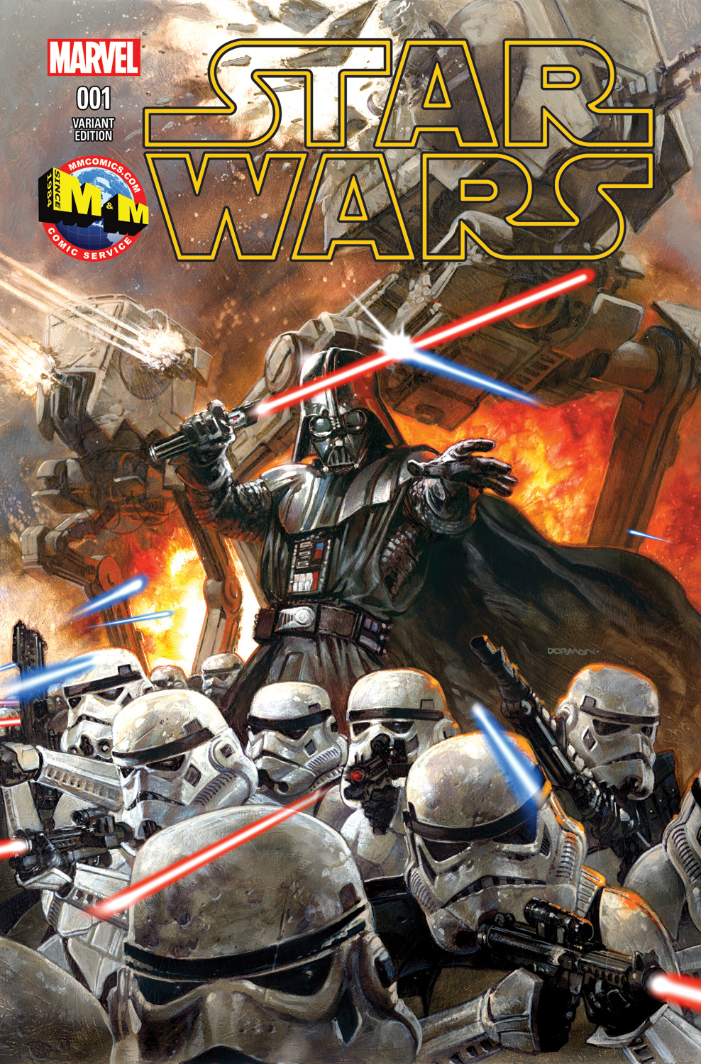 Star Wars #1 (Dave Dorman M&M Comics Variant Cover) (14.01.2015)