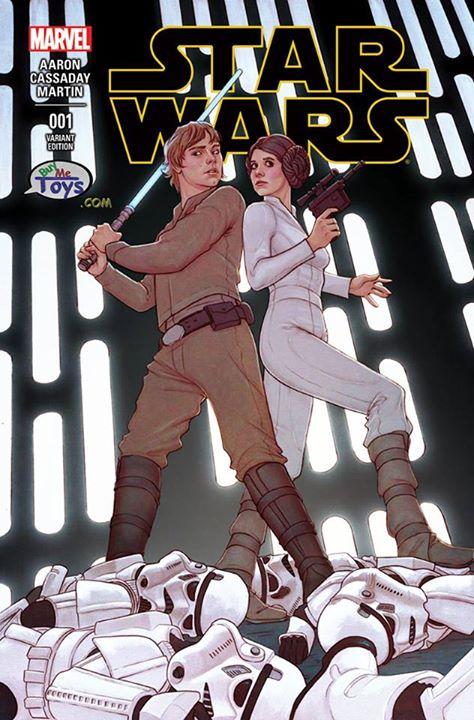 Star Wars #1 (Jenny Frison BuyMeToys.com Variant Cover) (14.01.2015)