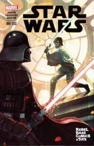 Star Wars #1 (Stephanie Hans Rebel Base Comics & Toys Variant Cover) (14.01.2015)