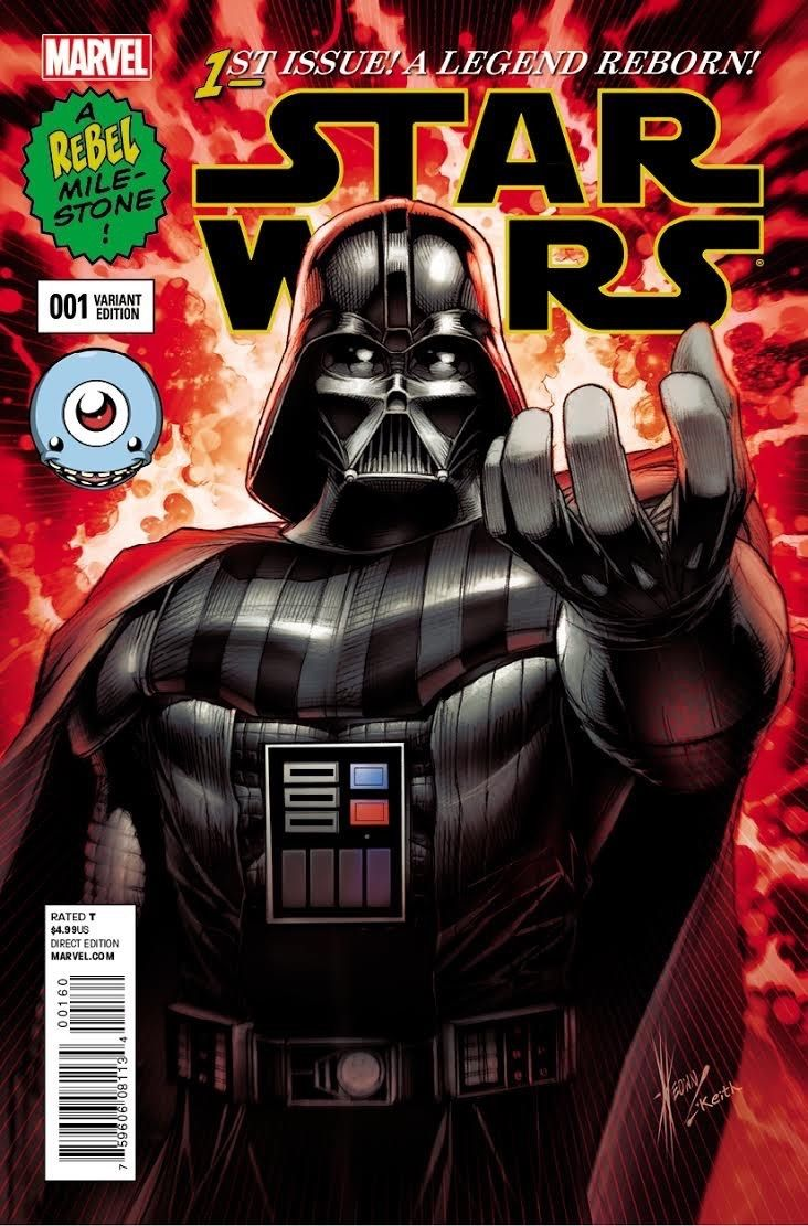 Star Wars #1 (Dale Keown Third Eye Comics Variant Cover) (14.01.2015)
