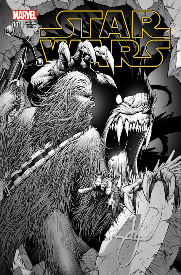 Star Wars #1 (Dale Keown AOD Collectables Sketch Variant Cover) (14.01.2015)