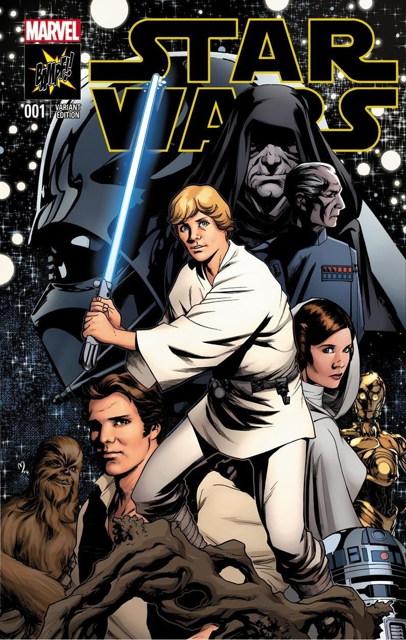 Star Wars #1 (Mike McKone BAMPF Collectables Variant Cover) (14.01.2015)