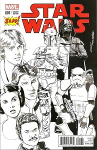 Star Wars #1 (Mike Mayhew ZAPP Comics Black & White Variant Cover) (14.01.2015)
