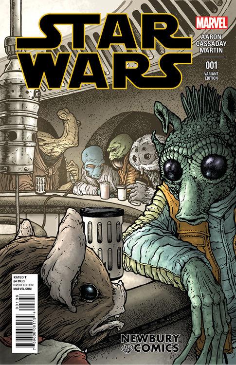 Star Wars #1 (David Petersen Newbury Comics Variant Cover) (14.01.2015)
