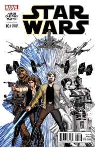 Star Wars #1 (John Cassaday Premiere Variant Cover) (14.01.2015)
