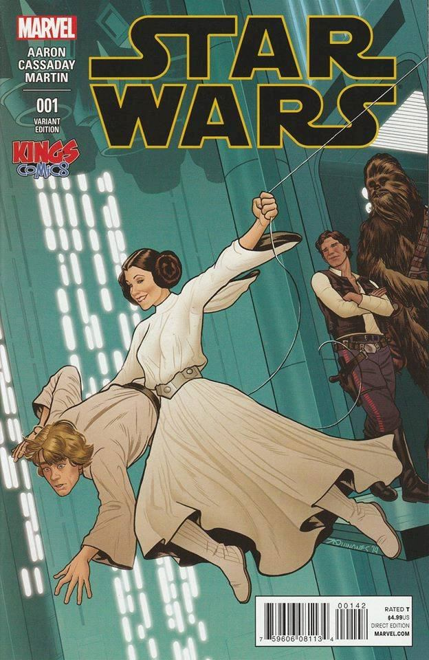 Star Wars #1 (Joe Quinones Kings Comics Variant Cover) (14.01.2015)