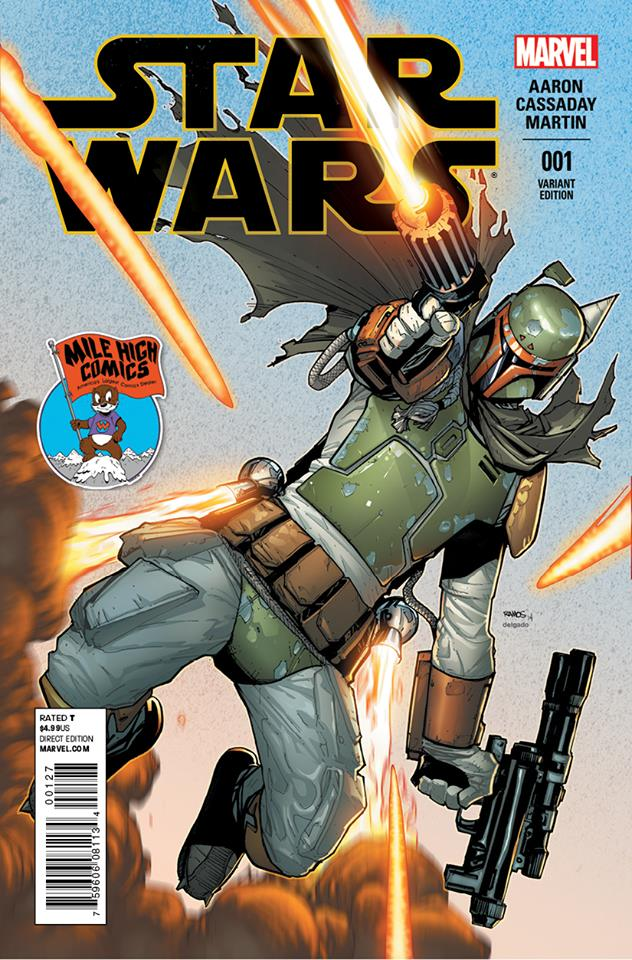 Star Wars #1 (Humberto Ramos Mile High Comics Variant Cover) (14.01.2015)